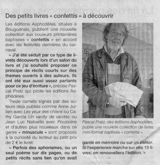 Ouest France 30 avril 2013