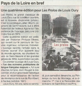 louis oury