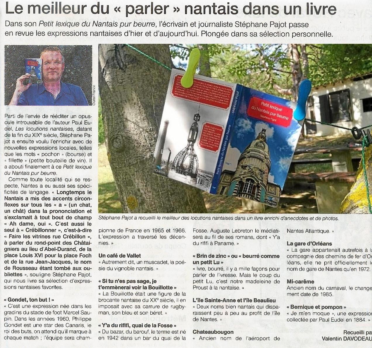 Ouest France 1er aout