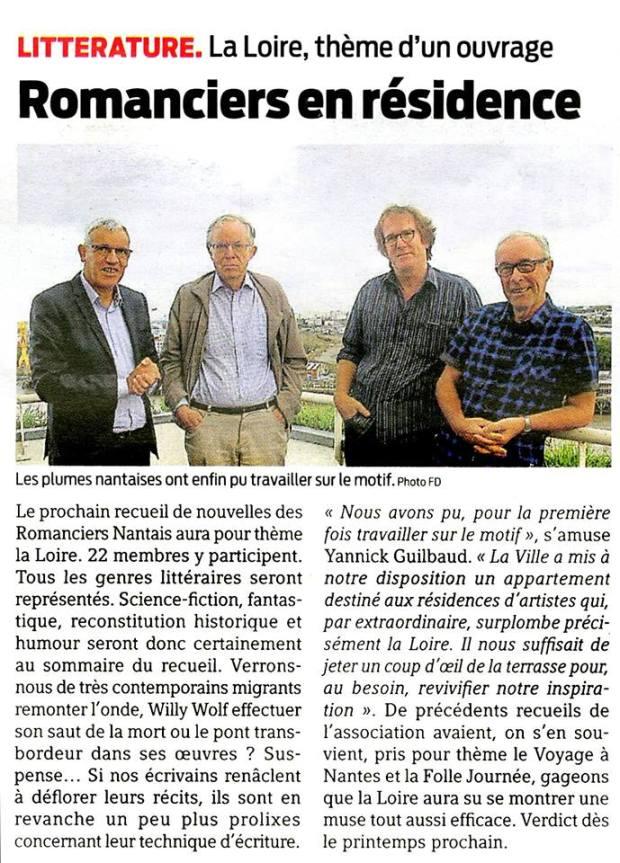 Presse Océan octobre 2017